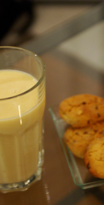 Banana milk shake!