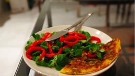 Omelette du soleil