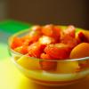 Pannacotta à l'abricot