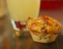 Muffins olives lardons