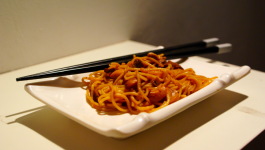 Nouilles chinoises au boeuf