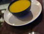 Soupe lardonnée