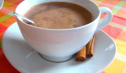 Chocolat chaud d'hiver