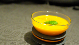 Velouté curry-carotte