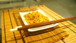 Nouilles chinoises aux crevettes