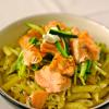 Salade au saumon acidulée