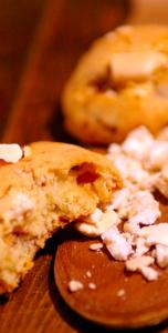 Cookies aux pépites de meringue