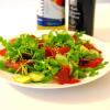 Salade croquante au grison
