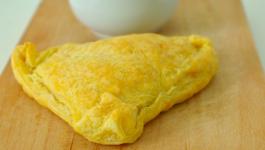 Feuilleté léger saumon-brocolis