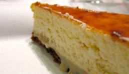 Cheesecake à la confiture de lait