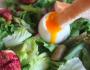 Salade aux asperges et aux figues roties