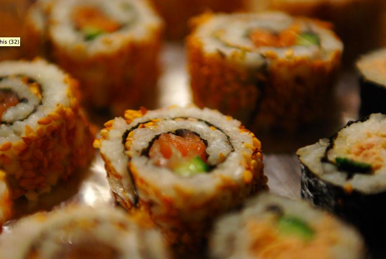 sushis pour les nuls