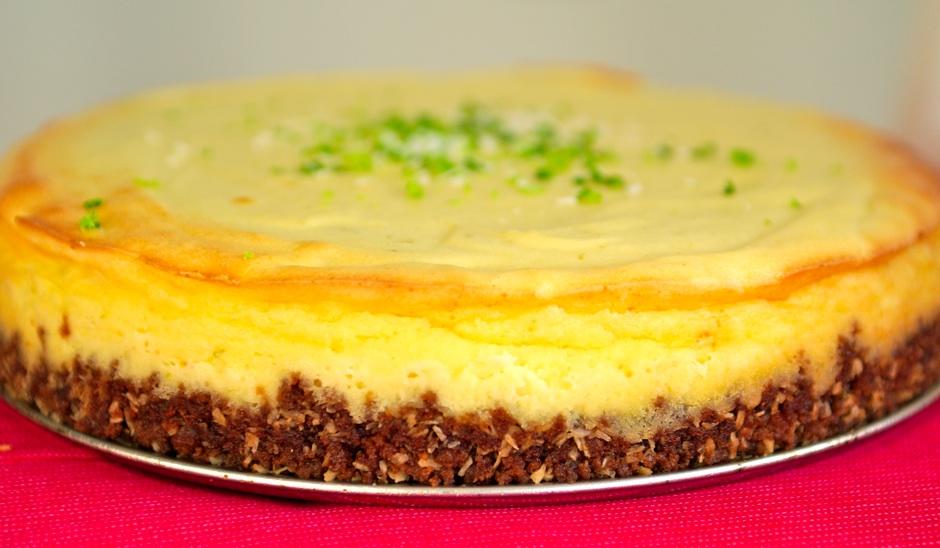 Cheesecake au citron faible en gras